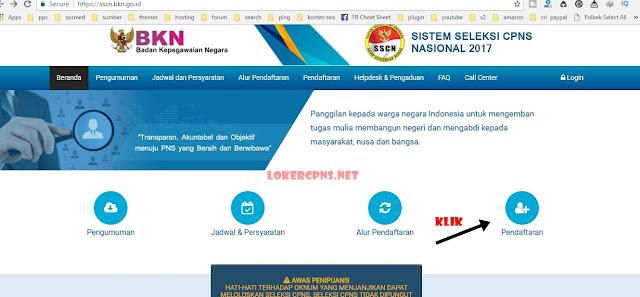 Cara Pendaftaran Online CPNS