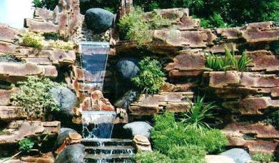 Taman Relief 3D - dekorasi Taman | Jasa Tukang Taman Surabaya XI
