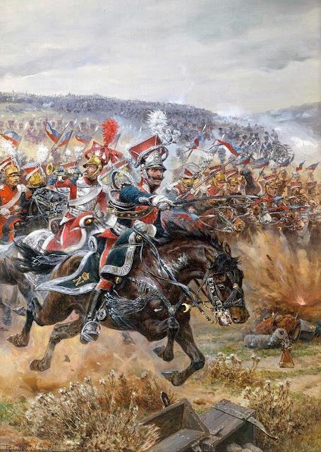 ostatnia szara a polskich ua ana w pod lipskiem 1813 mal richard caton woodville