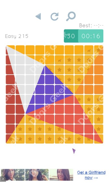 Cheats, Walkthrough for Blocks and Shapes Level 215