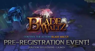 Netmarble Blade Waltz Telah Buka Pra-Registrasi
