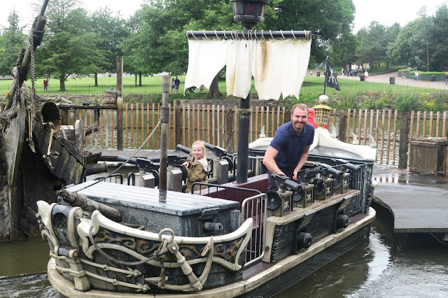 Alton Towers, Battle Galleons