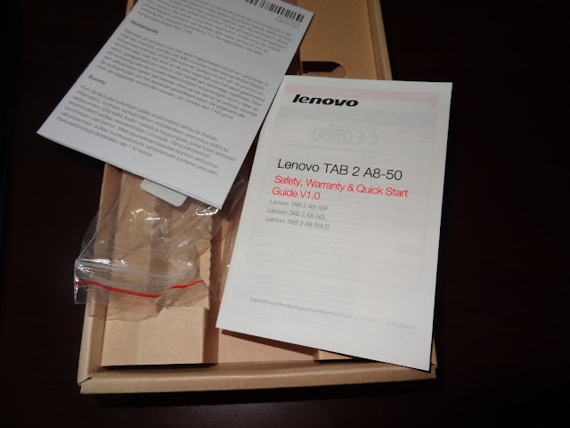 Lenovo TAB 2 A8-50F review