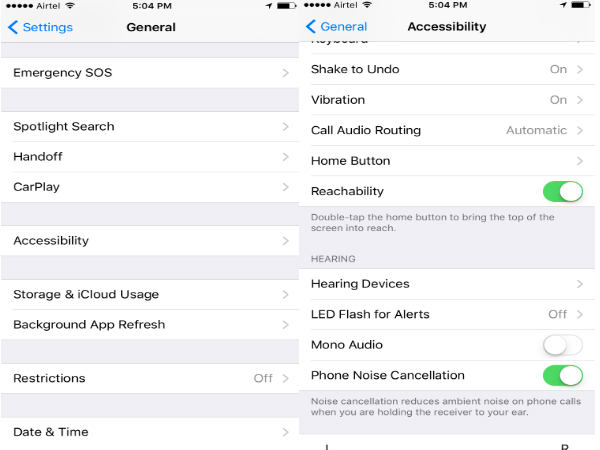 How to Activate One Handed Keyboard on iPhone - Reachability
