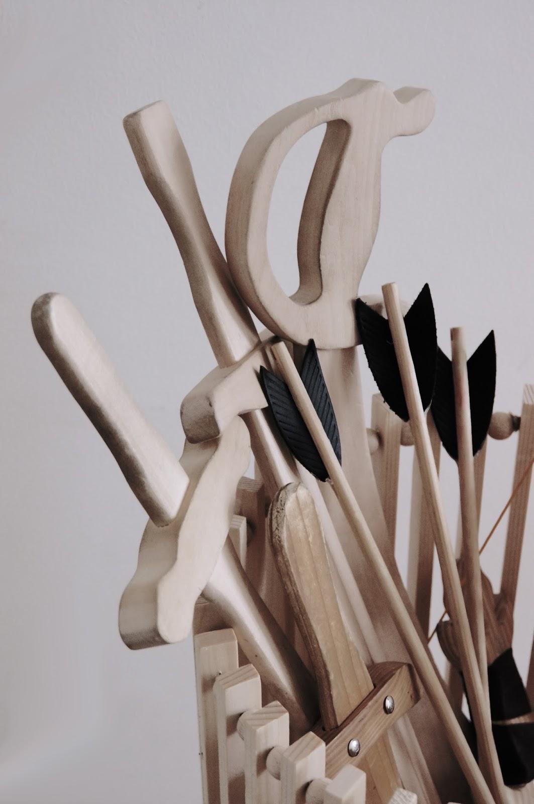 Basteln Malen Kuchen Backen: Körbe Aus Holzleisten