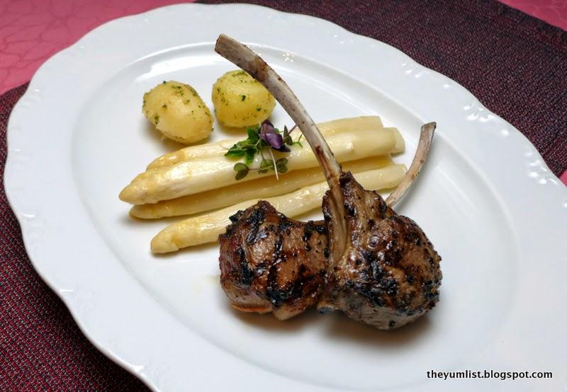 Feringgi Grill, White Asparagus Menu