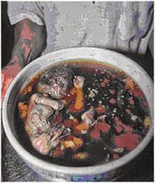 Rựng tóc gáy với Món Ăn của Quỷ: Ăn thịt người - Canh Thai Nhi