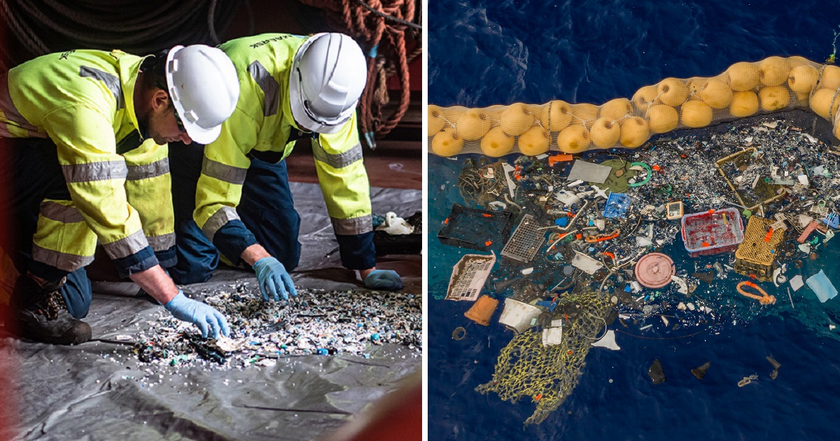 The Ocean Cleanup Device, Founded In 2013, Is Finally Catching Plastic Garbage
