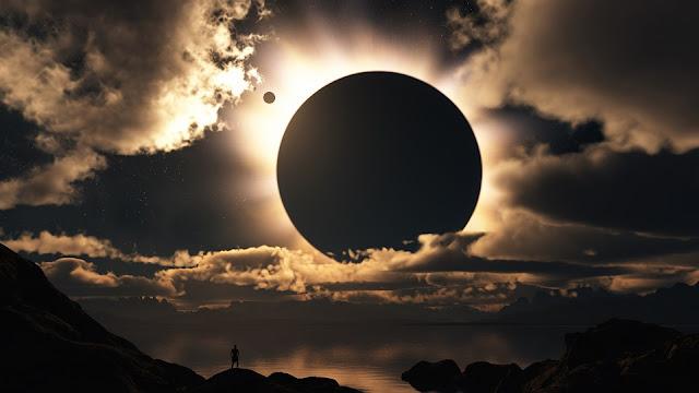 Twitter e Facebook vão transmitir ao vivo o eclipse solar total, que acontece em 21 de agosto.