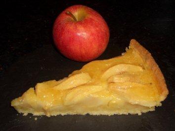 Verboten Gut Apfel Vanille Tarte