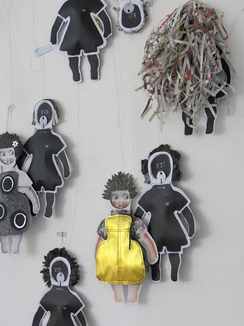 Les poupées en papier de copirates