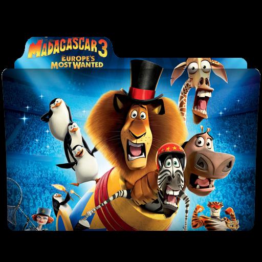 Folder Eyecons Madagascar 3 Europes Most Wanted 2012