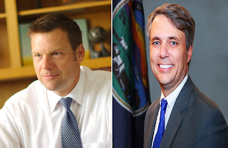 Republican Governor Race still to close to call.
