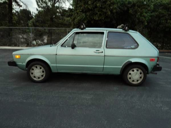 drives great 1979 volkswagen rabbit diesel. Black Bedroom Furniture Sets. Home Design Ideas