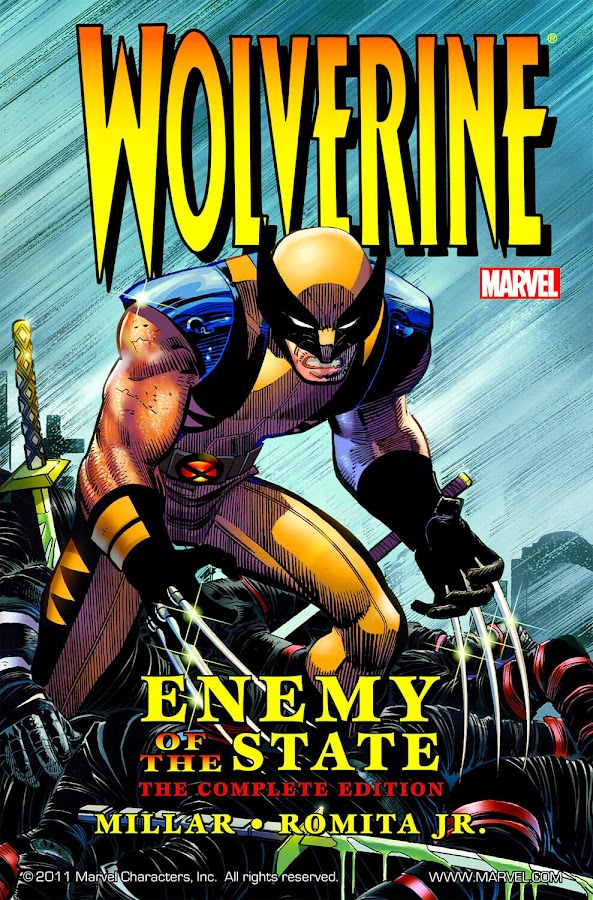 x-men wolverine enemy of the state