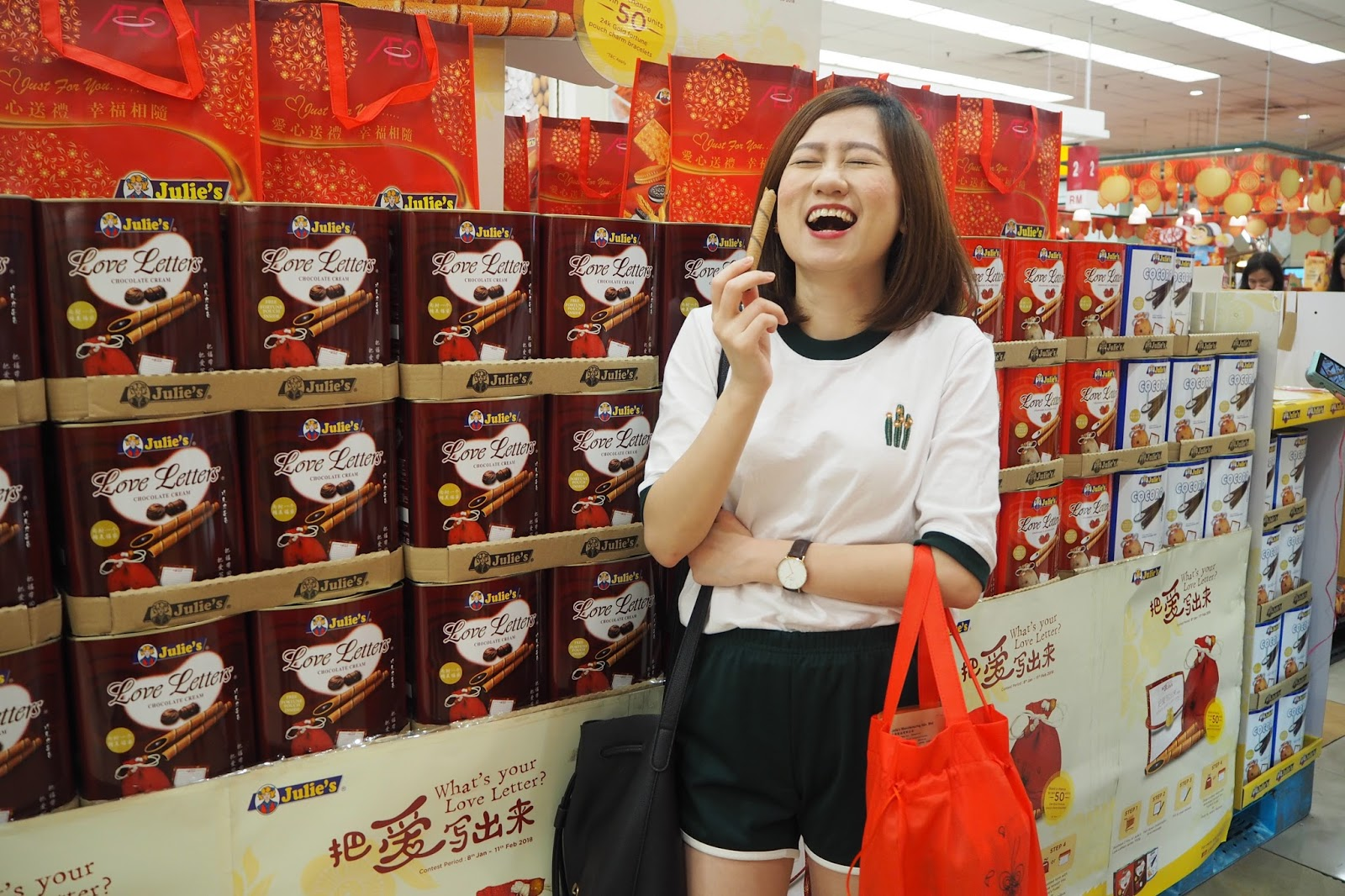 [Event] Julie's Collaborates with Celebrity Chef Martin Yan - Introducing Creative Recipes with love during this Chinese New Year @ Aeon Mahkota Cheras