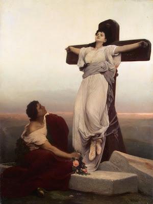 Mujeres crucificadas Crucified women martir cristiana