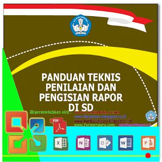 Download Panduan Teknis Penilaian & Pengisian Rapor di SD