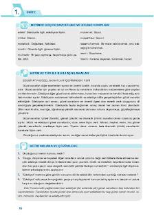 9. Sınıf Türk Dili ve Edebiyatı Ders Kitabı Cevapları Sonuç Yayınları Sayfa 16