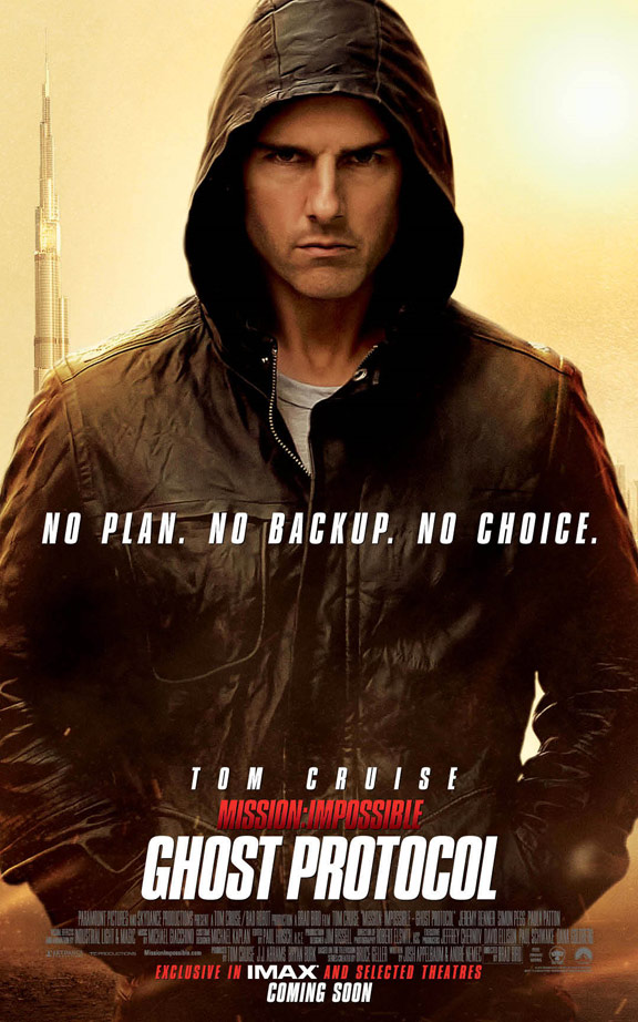 Celebrities Movies and Games Mission Impossible Ghost