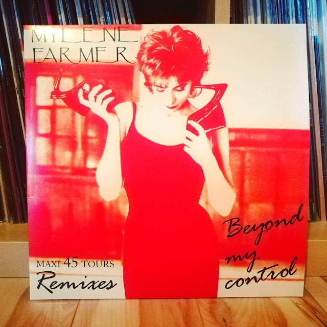 Mylène Farmer - rééditions vinyles 2018 beyond my control remixes