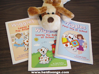 Wiggles Storybooks - Getting Control of a Talkative Class - HeidiSongs