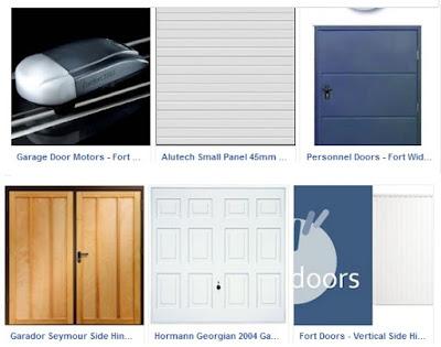 Click here to view and buy garage doors from The Garage Door King via Facebook