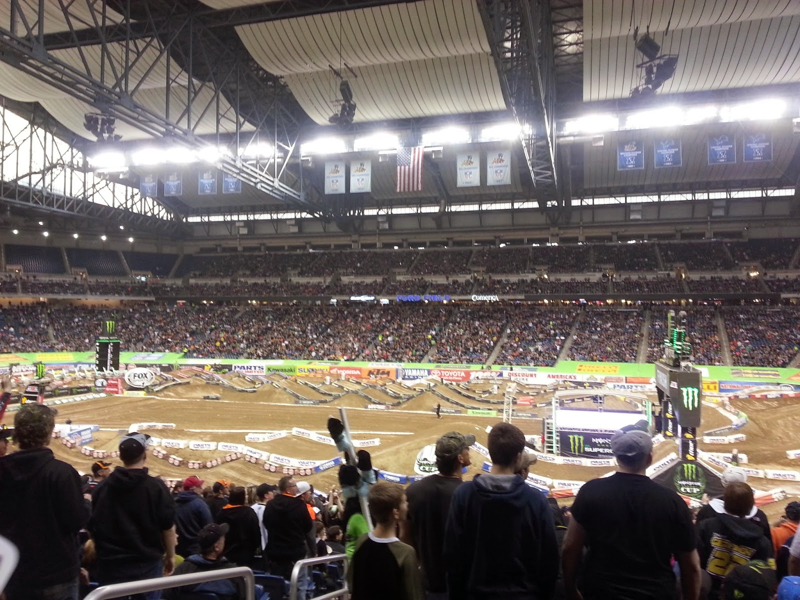 Ford Field Supercross Detroit