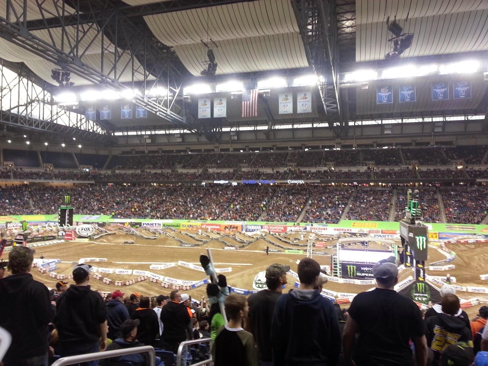 2014 Field Supercross Ford