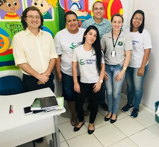 """Programa """"Criança Feliz"""" de Juquiá, recebe visita do consultor do ministério de desenvolvimento social"""
