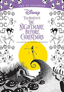 Art of Coloring: Tim Burton's The Nightmare Before Christmas