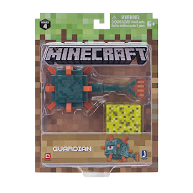 Minecraft Series 4 Guardian Overworld Figure