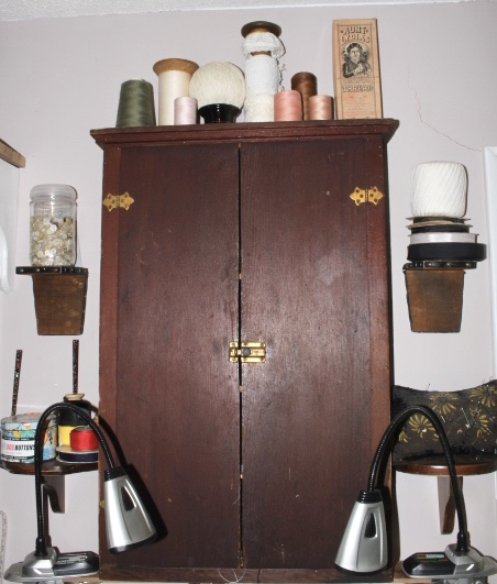 A Vertical Wall Cabinet