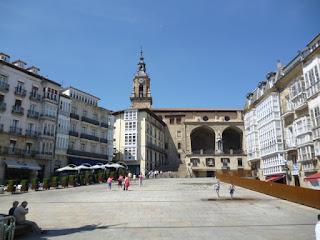 Zona centro de Vitoria