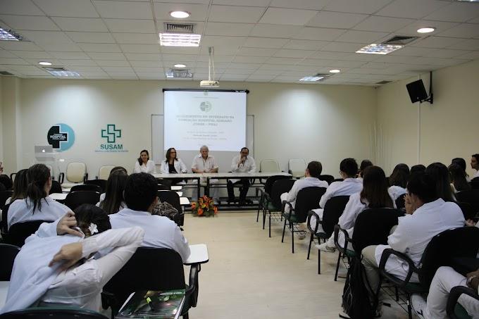 CIDADES - Adriano Jorge realiza 7º Acolhimento de acadêmicos da UEA