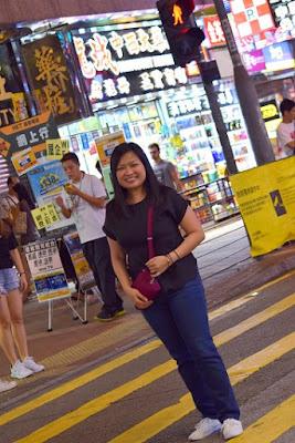 Pinay Travel in Mong Kok