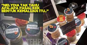 Thumbnail image for Kek Bentuk Kemaluan Parti Nelydia Senrose Dikecam Teruk, Nelydia Tak Tahu Apa-apa
