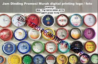 Souvenir Jam dinding Promosi - Tangerang