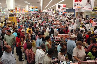 gente supermercado