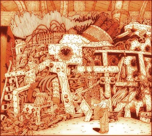 仮想のイントナルモーリを描いた絵