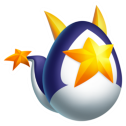 Appearance of High Star Dragon when egg
