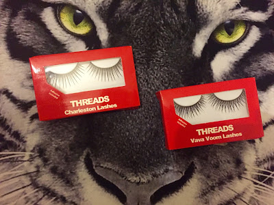 threads, threads lashes, threads lashes review, charleston lashes, lava voom lashes, lashes review, fake eyelashes, halloween makeup,