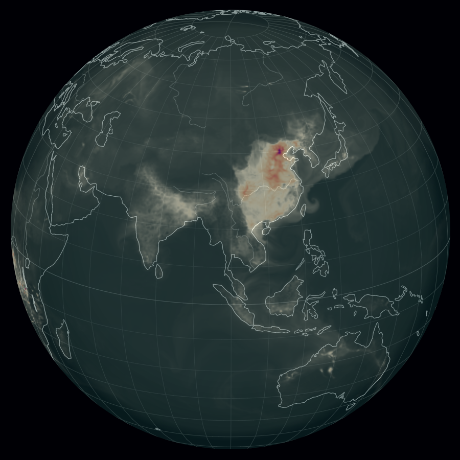 Air pollution in Asia (13.09.2017)