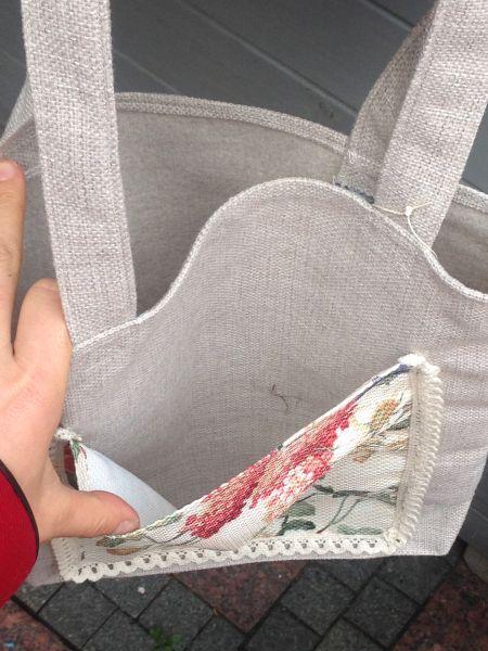 szyte torby na zakupy