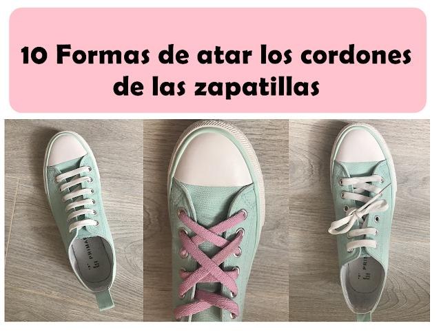 atar cordones zapatillas facilmente