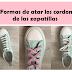 10 + 5 Formas de atar los cordones de las zapatillas de maneras originales