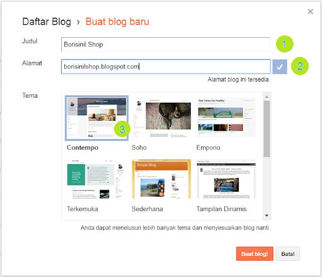 Belajar membuat website (Situs Blog)