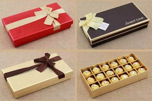 Special chocolate for valentin's day