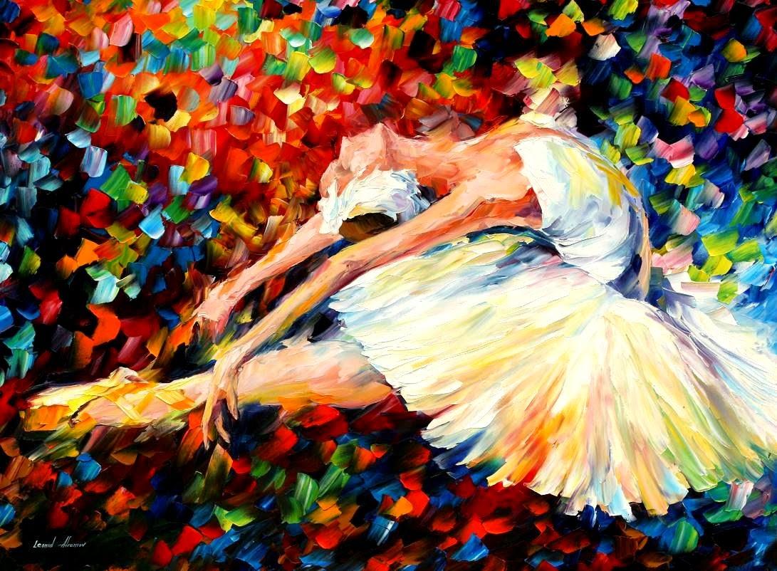 Emoção - Pinturas de Leonid Afremov | O mestres da  espátula