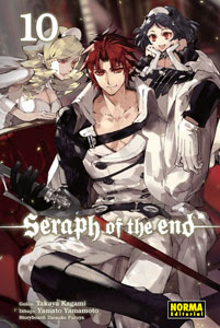 "Reseña de ""Seraph of the End"" (Owari no Seraph 終わりのセラフ) vol. 10 - Norma Editorial"